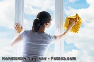 Fenster putzen – wie lassen sich streifenfrei Fenster putzen?
