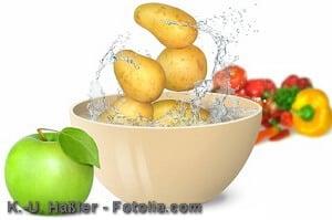 Obst und Gemüse richtig waschen – Tipps und Infos