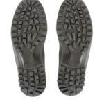 Schuhsohlen auf weissem Hintergrund