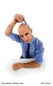 Glatze pflegen – so geht's – Anleitung und Tipps