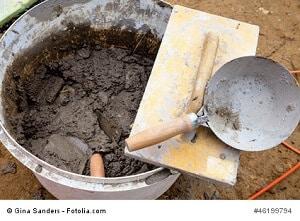 Mörtel und Beton mischen – so klappt's – Anleitung und Tipps