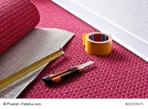 teppich verlegen anleitung tipps und hilfsmittel. Black Bedroom Furniture Sets. Home Design Ideas