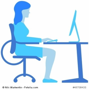 Falsche Sitzhaltung – gesundheitliche Folgen für den Rücken