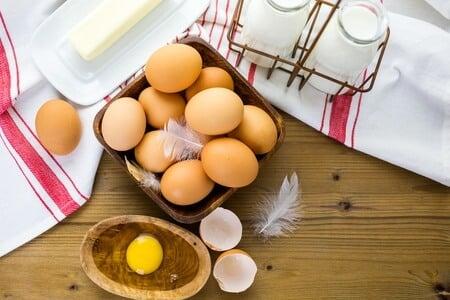 Eier und Milch richtig lagern