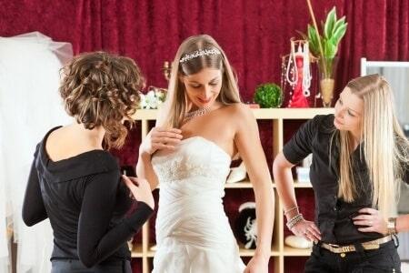 Brautkleid Aussuchen