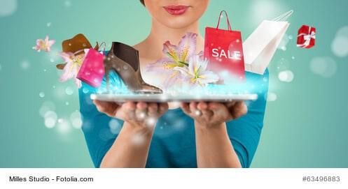 Dem Online Shopping gehört die Zukunft