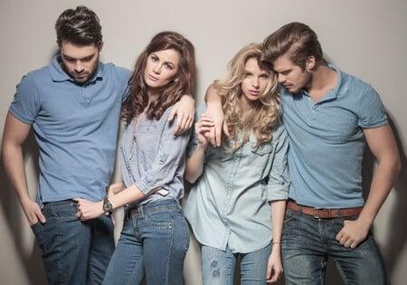 Jeansarten für Frauen und Männer