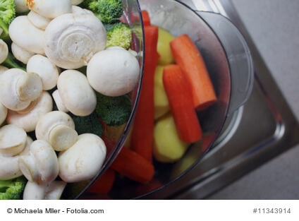 Mit dem Dampfgarer eine zeitgemäße und vitaminreiche Mahlzeit zubereiten