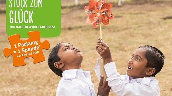 Stück zum Glück: P&G und Rewe helfen Kindern in Bangladesch