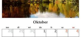 Kalender: Nützliches Hilfsmittel und dekoratives Element zugleich