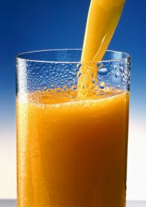Orangensaft, Saft