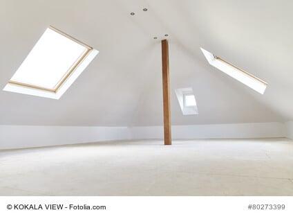 Mehr Wohnfläche durch den Ausbau von Dächern