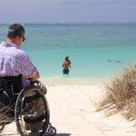 Urlaub, Rollstuhl