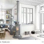 Ofen Wohnzimmer