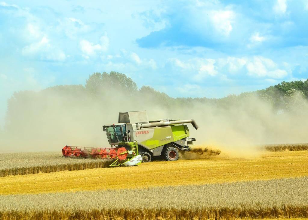 Was muss man beim Gebrauch von Landmaschinen beachten?
