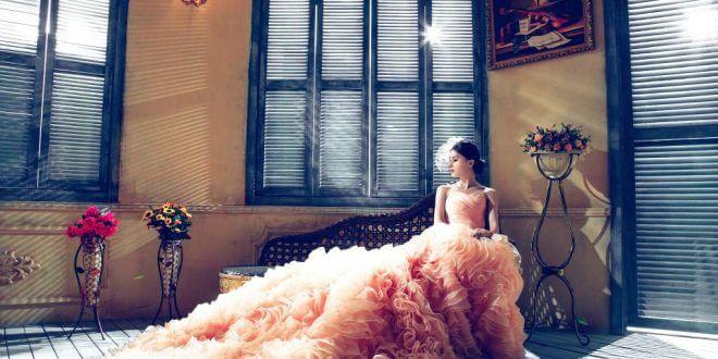Brautkleid in Farbe: Die Braut, die sich was traut