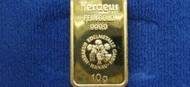 Geldanlage in Form von Gold für schlechte Zeiten
