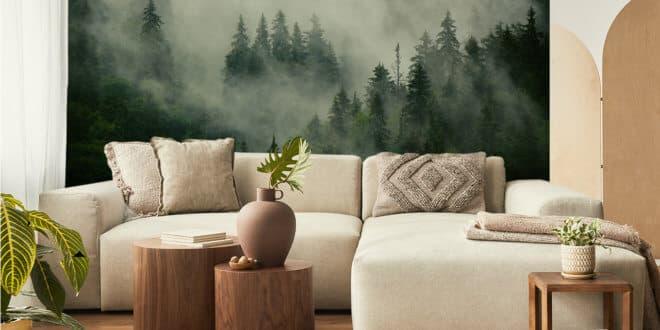 Fototapete – ein Rezept, ein wenig Natur in Ihr Interieur zu bringen